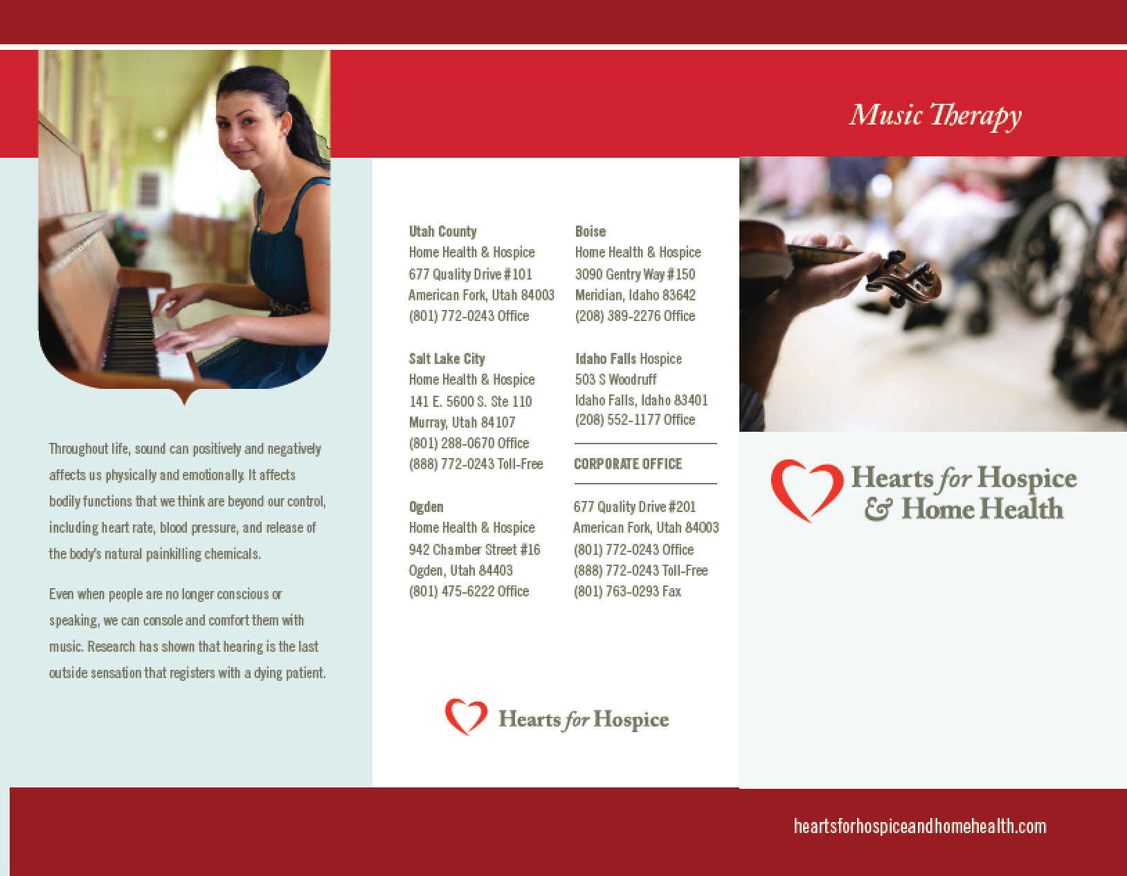 Why Music Therapy in Hospice? - Hearts for Hospice and Home